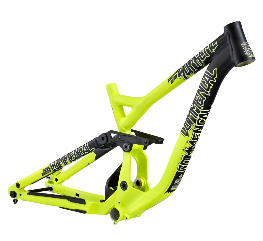 Рама Commencal VIP Supreme DH  Marzocchi M yellow black 2015