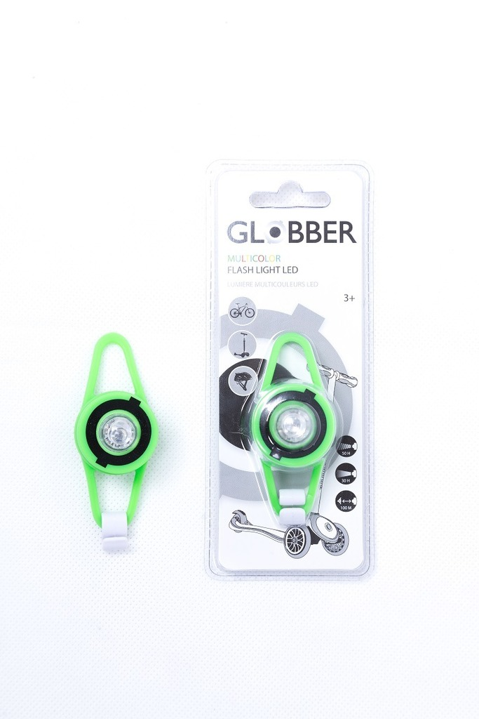 Фонарь Globber Led Lights green